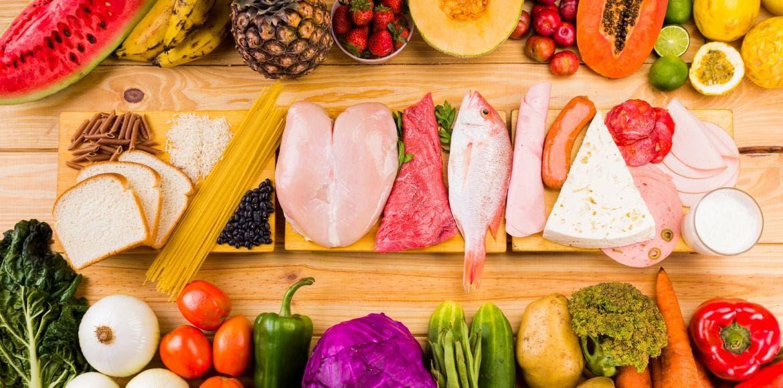 repas riches en matières grasses et riches en protéines